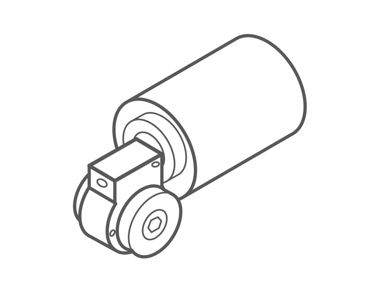 Redüktörlü Motor